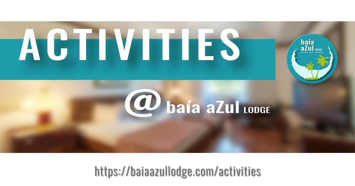 ACTIVITIES - BAÍA AZUL LODGE - THUMBNAIL - by DESIGN GRÁFICO - ©2020 GOTOPEMBA - R&D