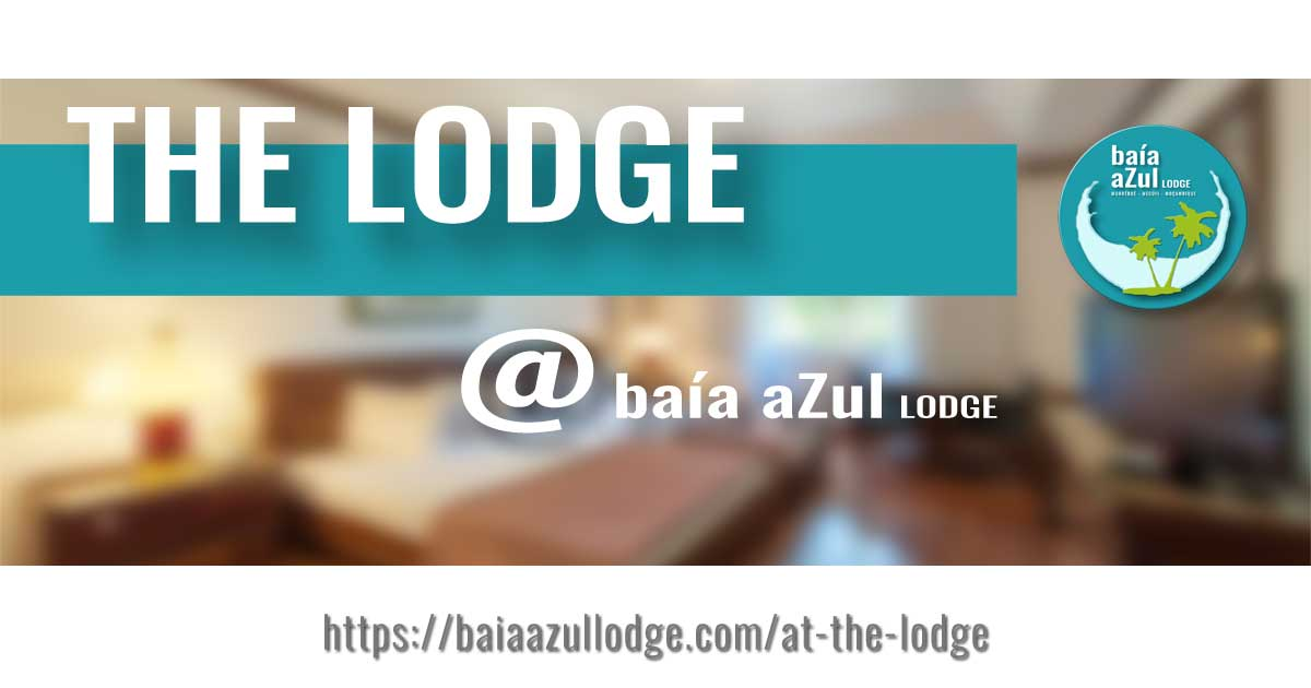 AT THE LODGE - BAÍA AZUL LODGE - THUMBNAIL - by DESIGN GRÁFICO - ©2020 GOTOPEMBA - R&D